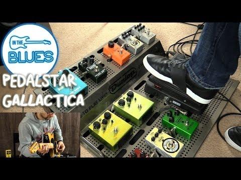 Pedalstar Gallactica Pedalboard Demo!