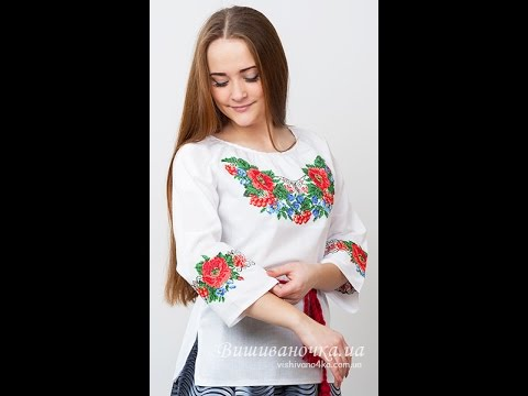Блузка с Вышивкой - 2017 - Мода - Стиль / Blouse with embroidery
