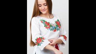 Блузка с Вышивкой - 2017 - Мода - Стиль / Blouse with embroidery(Блузка с вышивкой имеет статус эксклюзива и неординарности. Как ручная, так и машинная вышивка несет гармон..., 2015-12-26T15:22:20.000Z)