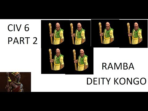 [Civ 6] Deity Kongo (Part 2)