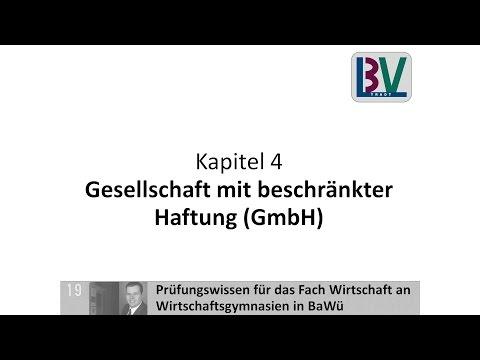 Gesellschaft mit beschränkter Haftung GmbH [WG K04 T04]