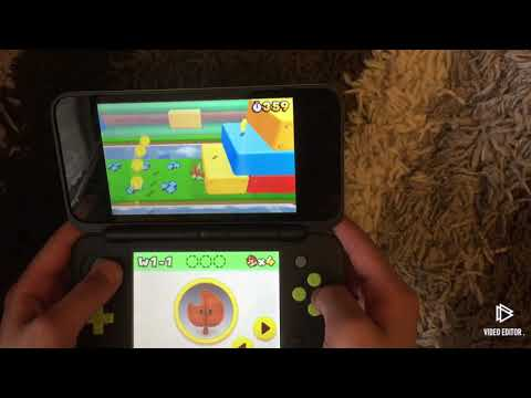 Unboxing a Nintendo 2DS XL with super Mario 3-D land