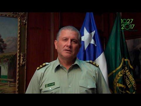 Mensaje del General Director Bruno Villalobos Krumm a sus carabineros