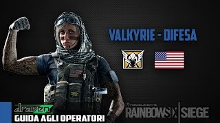 GUIDA AGLI OPERATORI / VALKYRIE - Rainbow Six: Siege   I   GAMEPLAY/COMMENTARY ITA #6
