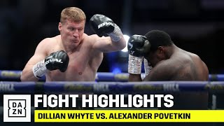 HIGHLIGHTS | Dillian Whyte vs. Alexander Povetkin