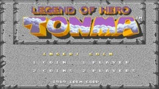 Legend of Hero Tonma Lv1-2-3-4 1989 Irem Mame Retro Arcade Games