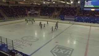 Чемпионат России по синхронному катанию KMC Короткая программа 2 Жемчужина TOL