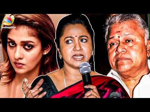 This is Not Good : Radikaa's Immediate Response to Radha Ravi's Sexist Comments on Nayanthara