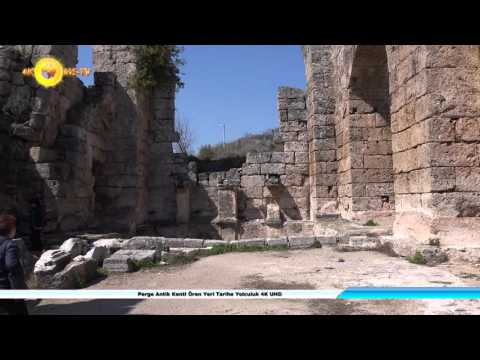 Perge Antik Kenti Ören Yeri Tarihe Yolculuk 4K UHD