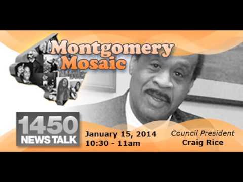 January 15, 2014 Montgomery Mosaic Radio Show
