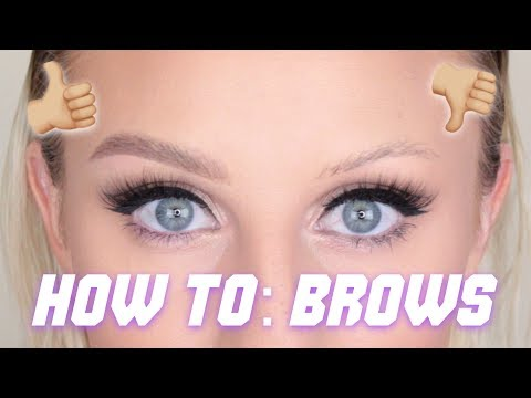 UPDATED BROW TUTORIAL | beccaboo