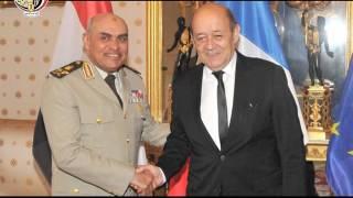 بالفيديو| المتحدث العسكري يعرض لقطات من لقاء وزير الدفاع بنظيره الفرنسي