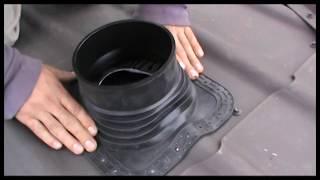 видео Вентиляционные выходы для металлочерепицы, проходы