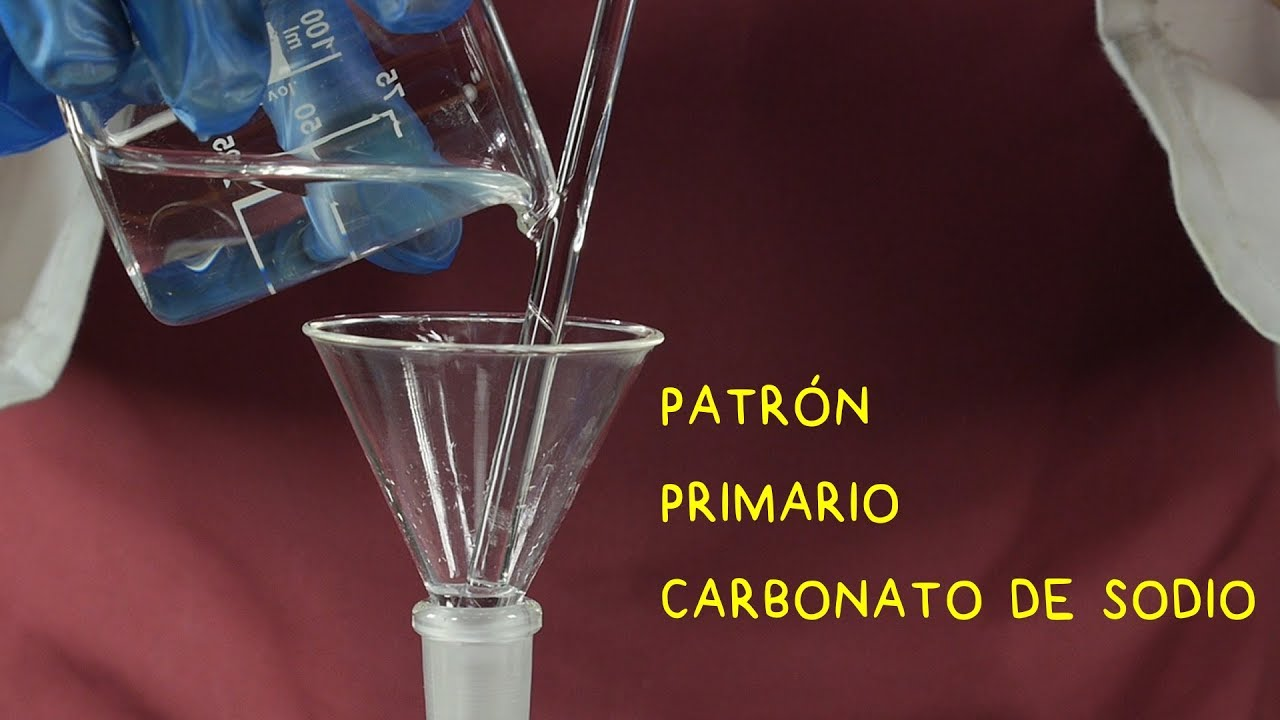Primary Standard Solution Of Sodium Carbonate Na2co3 Acid Base Titration