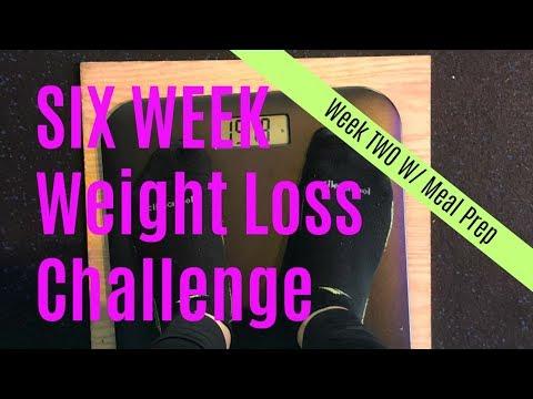 Six Week Weight-Loss Challenge | Week 2:6 | Meal Prep | Rockbox