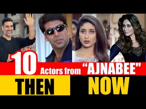 """10 Bollywood Actors from """"AJNABEE"""" 2001 