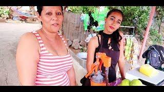 Una joven Salvadoreña emprendedora   San Miguel El Salvador