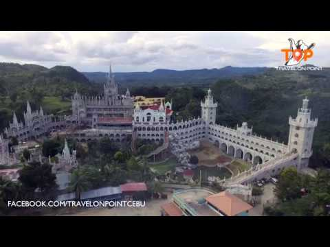 the miraculous simala church cebu philippines aerial shot youtube