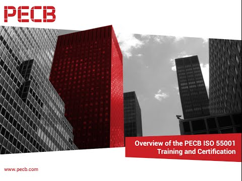 Overview of the PECB ISO 55001 Training and Certification course