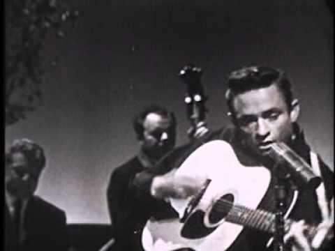 Johnny Cash Big River 1958 - YouTube