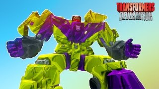 ТРАНСФОРМЕРЫ #1 Игровой мультик для детей про роботов АВТОБОТОВ. Transformers Devastation