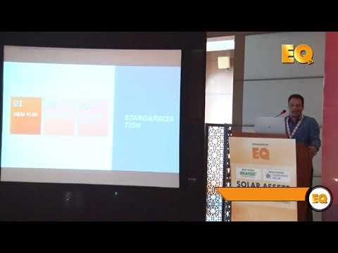 Ramesh Kumar, AVP-O&M, Amplus at EQ Solar Assets Conference, Delhi