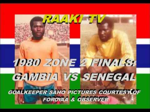 GAMBIA VS SENEGAL   1980 ZONE 2 FINALS
