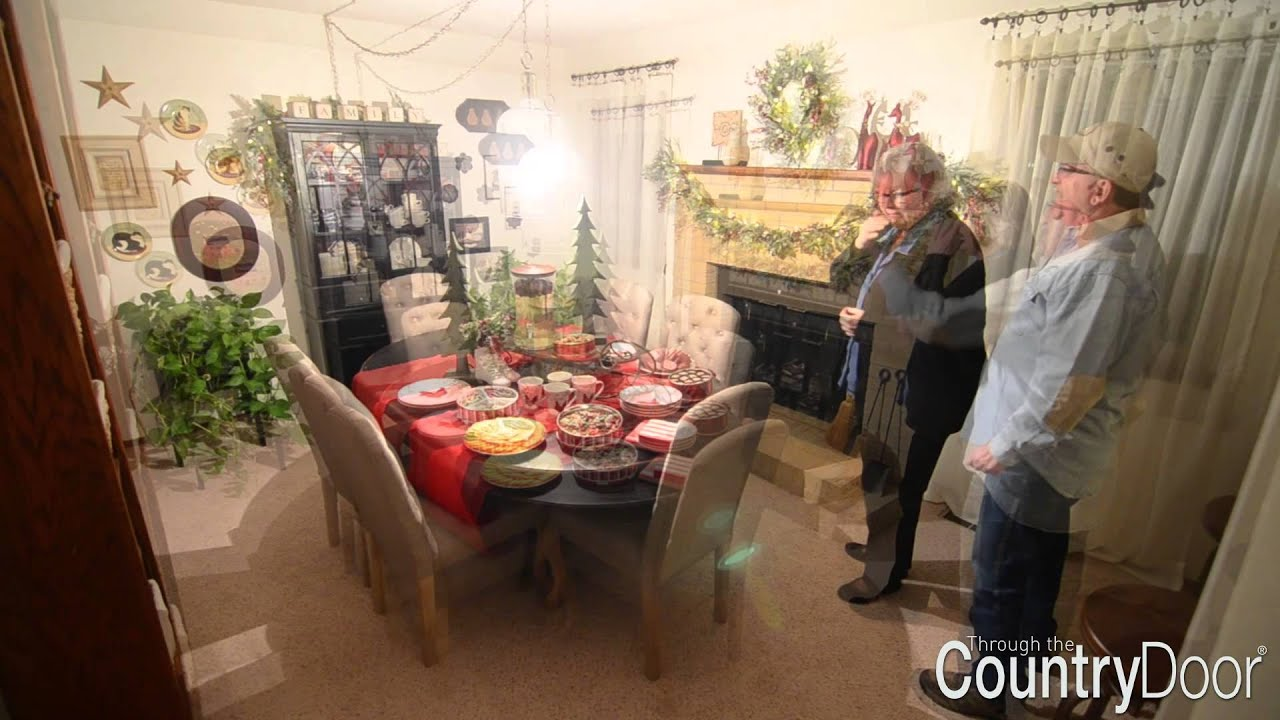 2014 Country Door Holiday Decor Sweepstakes- Winner Reactions - YouTube