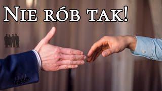 Jak popsuć uścisk dłoni na 15 sposób – Czas Gentlemanów