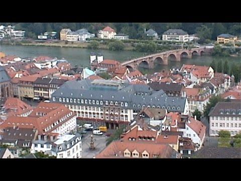 Heidelberg Castle and Old Town, Heidelberg, Germany