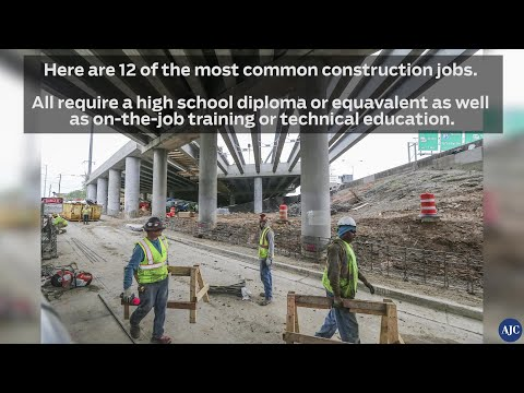 12 most common construction jobs and what they pay