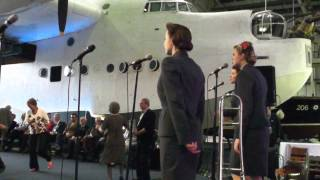 'The Three Belles' on Veterans Day at The RAF Museum, (Hendon Aerod...