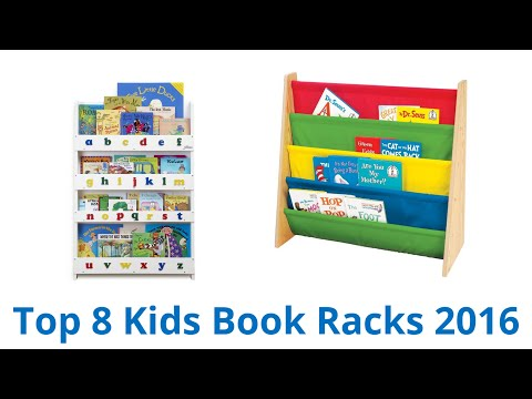 8 Best Kids Book Racks 2016