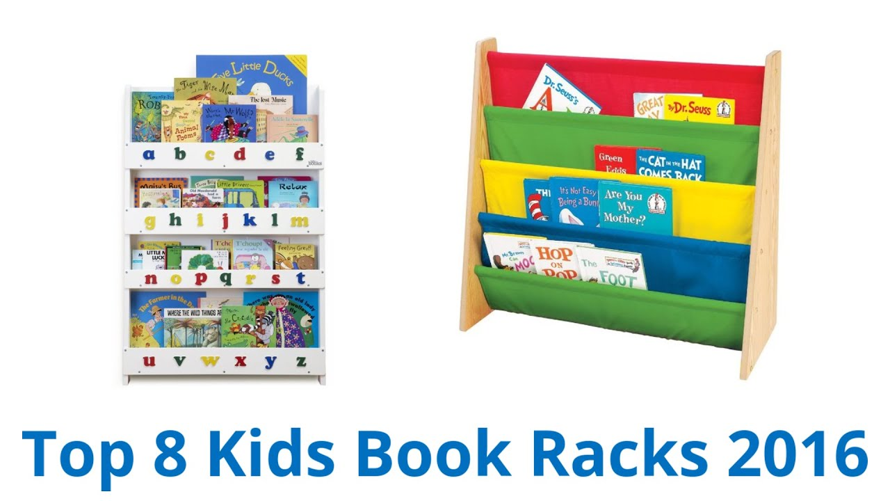 8 Best Kids Book Racks 2016 - YouTube