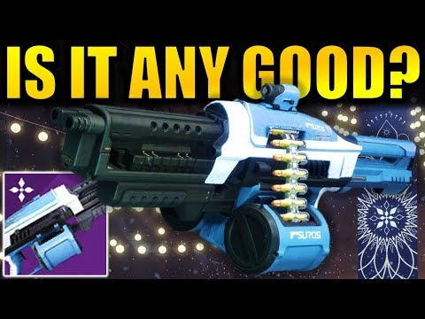 Destiny 2: *NEW* AVALANCHE Machine Gun! - Is it any Good? | The Dawning 2018 thumbnail
