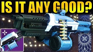 Destiny 2: *NEW* AVALANCHE Machine Gun! - Is it any Good? | The Dawning 2018