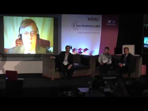 Panel discussion on Network Analytics during Subex User Conference 2013 at Dublin, Ireland