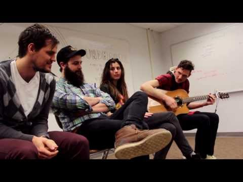 """Houndmouth """"Hey Rose"""" (Lawrence High School Classroom Sessions Pt.2)"""
