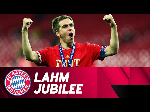 500 games for FC Bayern! Lahm celebrates a jubilee