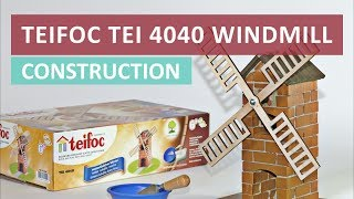 Teifoc TEI 4040 Windmill - Unboxing and Building