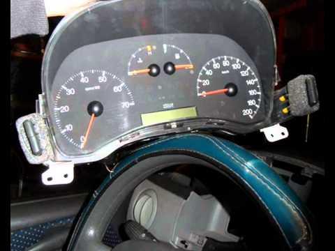 Fiat Punto MK2 Műszerfal/Dashboard Tuning