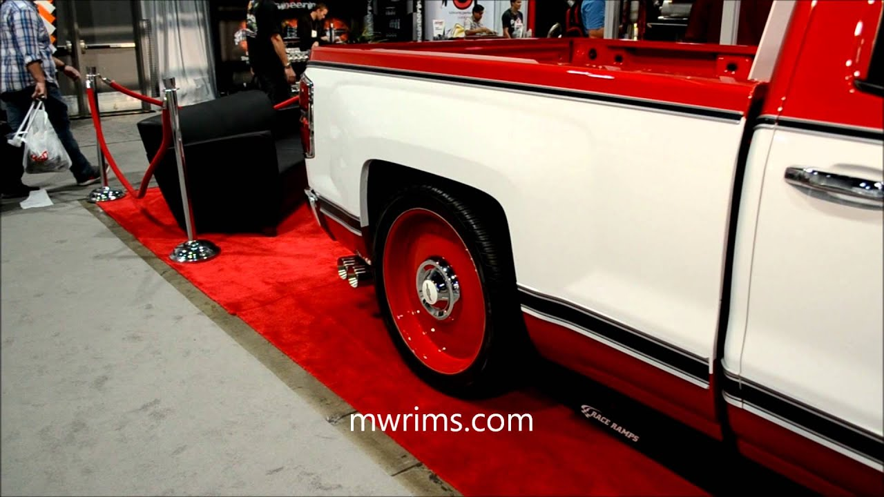 Sema show - chevy c10 silverado retro conversion - YouTube