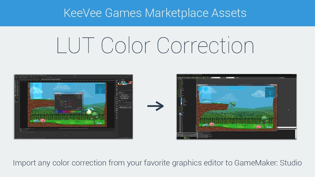 Game maker colors - Lut Color Correction For Gamemaker Studio
