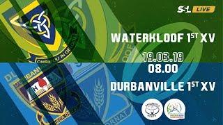 Waterkloof 1st XV vs Durbanville 1st XV - Noord Suid Rugby Toernooi