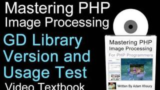 PHP Tutorial Check GD Library Version and Test Usage
