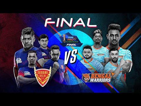 Pro Kabaddi 2019 Final Highlights | Dabang Delhi vs Bengal Warriors