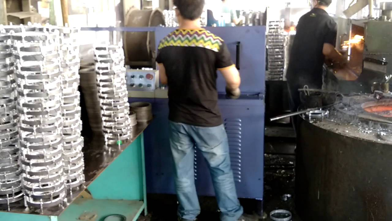 Also centrifugal die casting machine