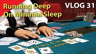 One-Outer Leads to Deep Tournament Run – Poker Vlog 31
