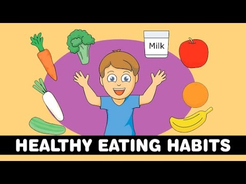 Healthy Eating Habits For Kids Healthy Food For Kids Preschool Learning Videos Youtube