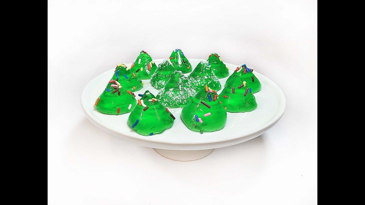 Christmas Tree Jello Shots
